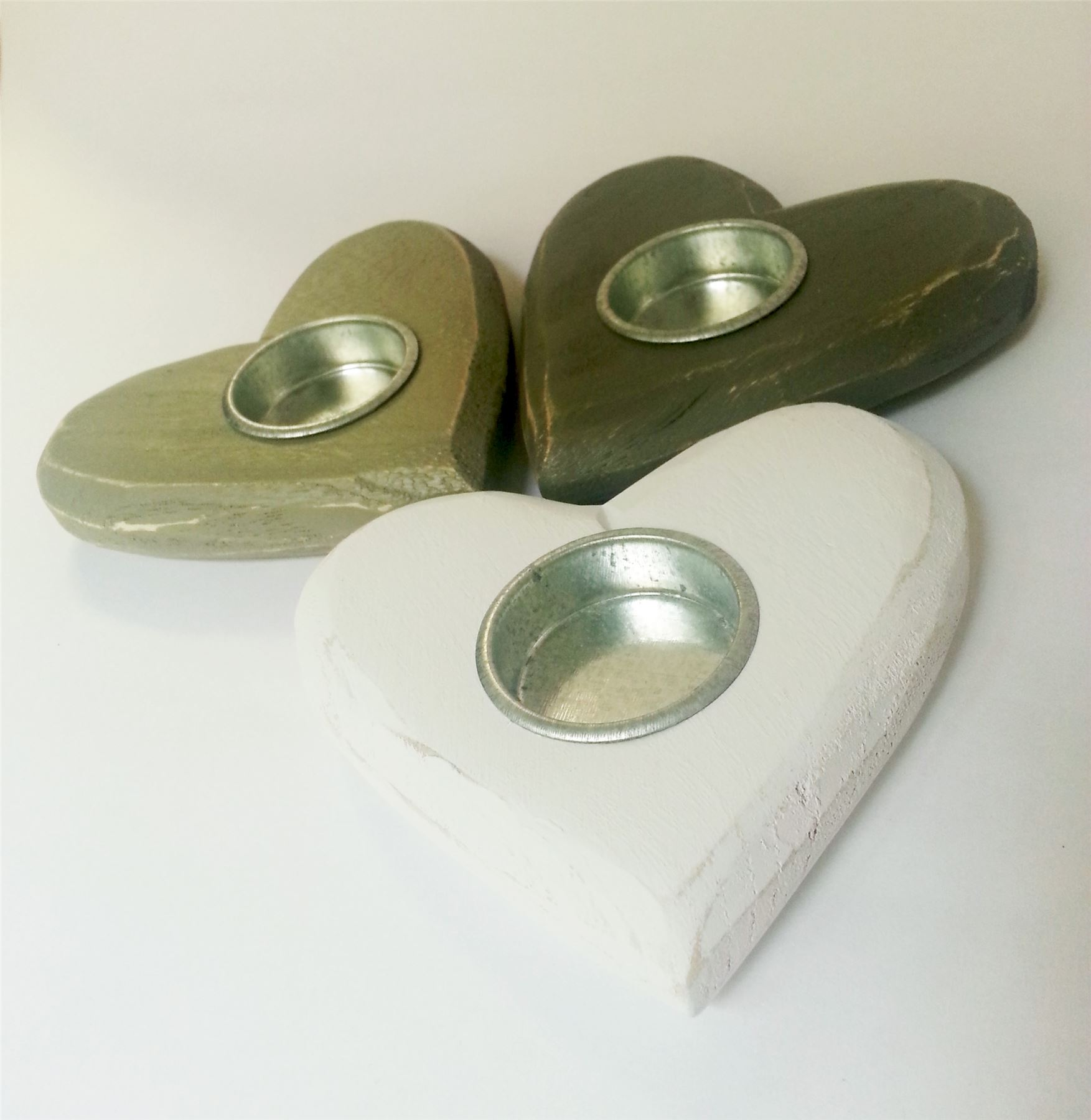 Gisela-Graham-heart-T-Light-Candle-Holders