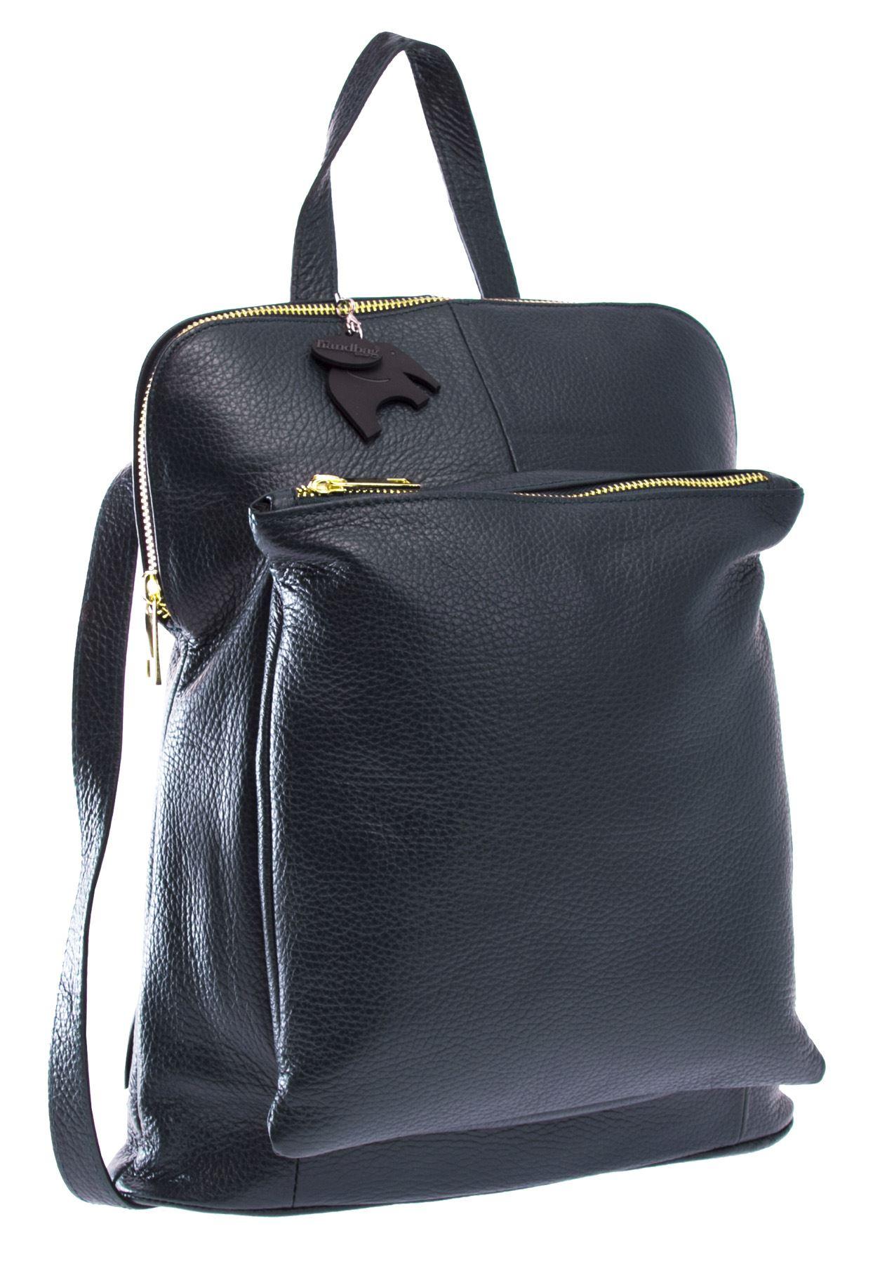 Handbag Womens Genuine Leather Medium Convertible
