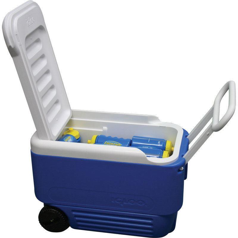Igloo Wheelie Cool 38qt 36l Roller Cooler Camping Ice