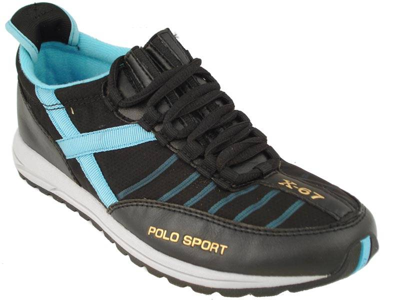 polo sport womens shoes black sneakers aaw13686 ebay