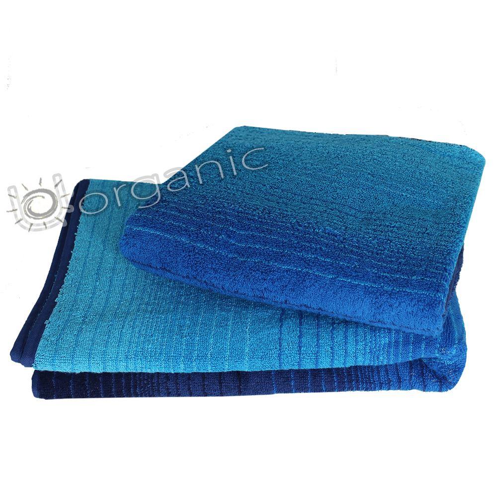 Dyckhoff Luxury 100 Organic Cotton Hand Bath Towel Bath Sheet Bale Blue EBay