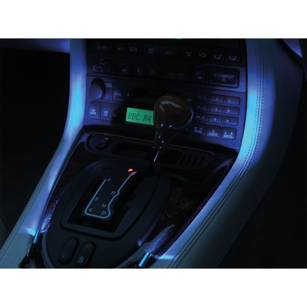 Xp car interior mood lighting led lamp blue light - Blue light bulbs for car interior ...