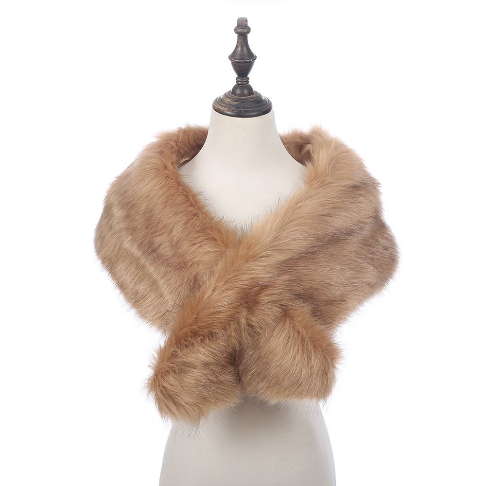 Faux Fur Scarves. When winter rolls around, you don't have to throw fashion out the window for the sake of staying warm. In fact, with faux fur scarves, look good, but also stay comfortable and warm, no matter how cold the outside temperature.