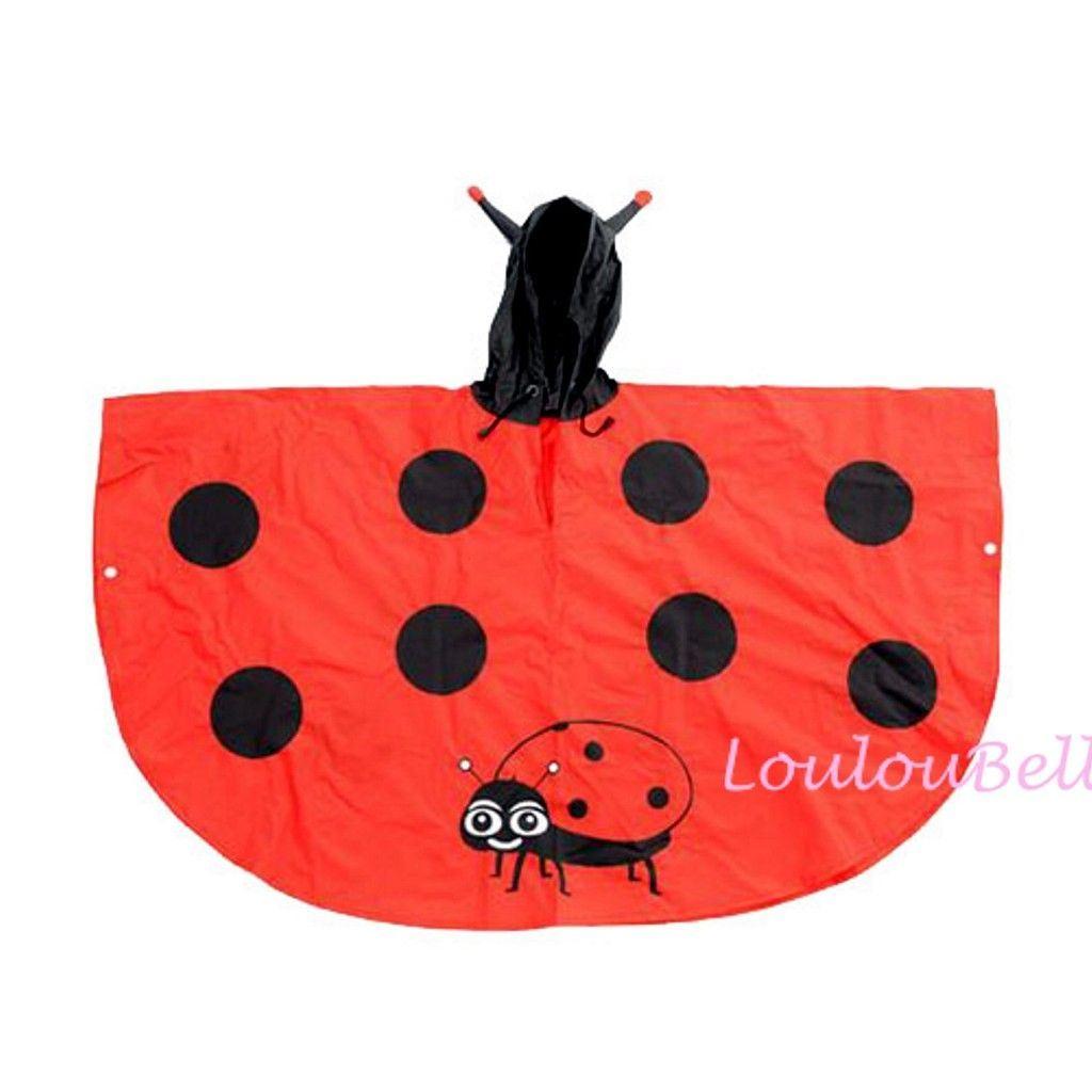 Impermeabile per bambini pioggia poncho cartoni animati