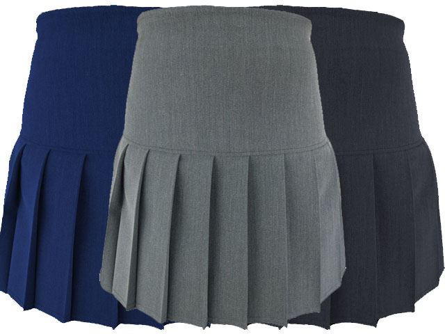 GIRLS SCHOOL HALF PLEATED SKIRT UNIFORM - ULTRA STYLISH!
