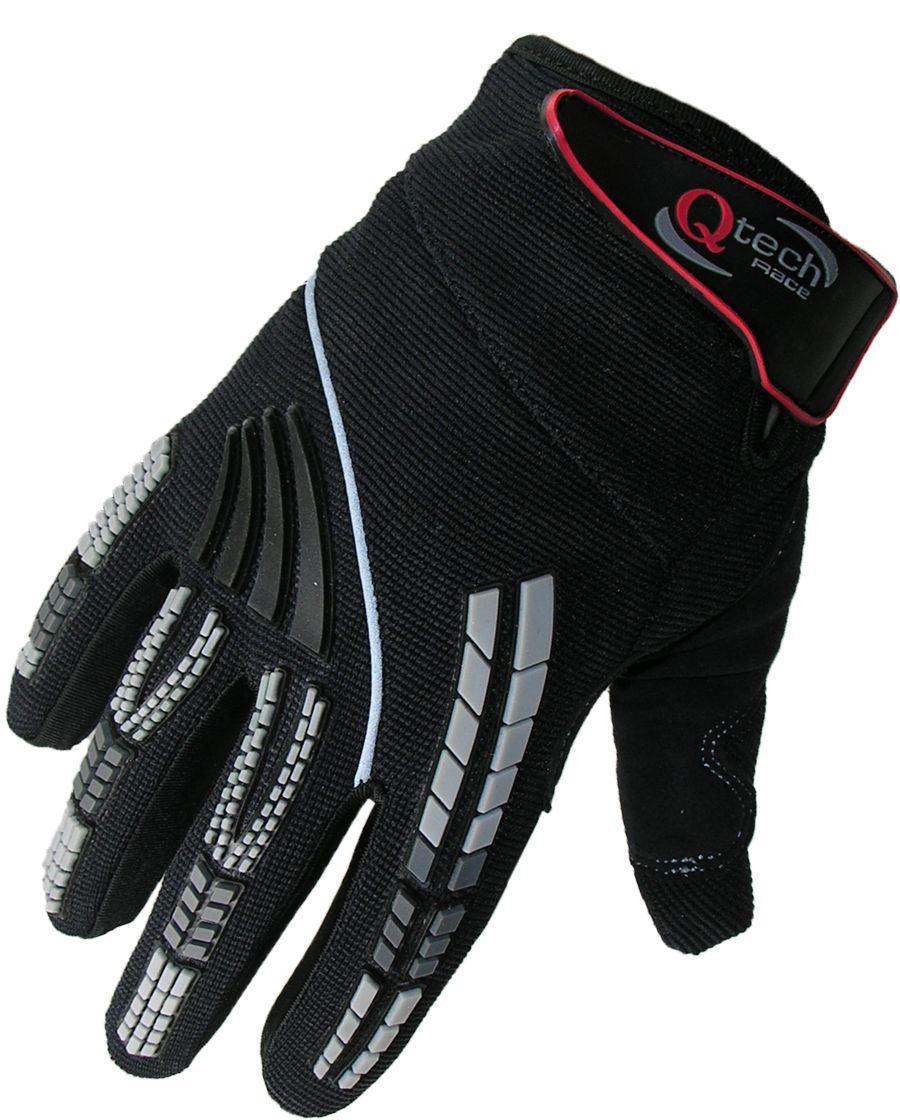 qtech gants protecteurs moto cross tout terrain bmx. Black Bedroom Furniture Sets. Home Design Ideas