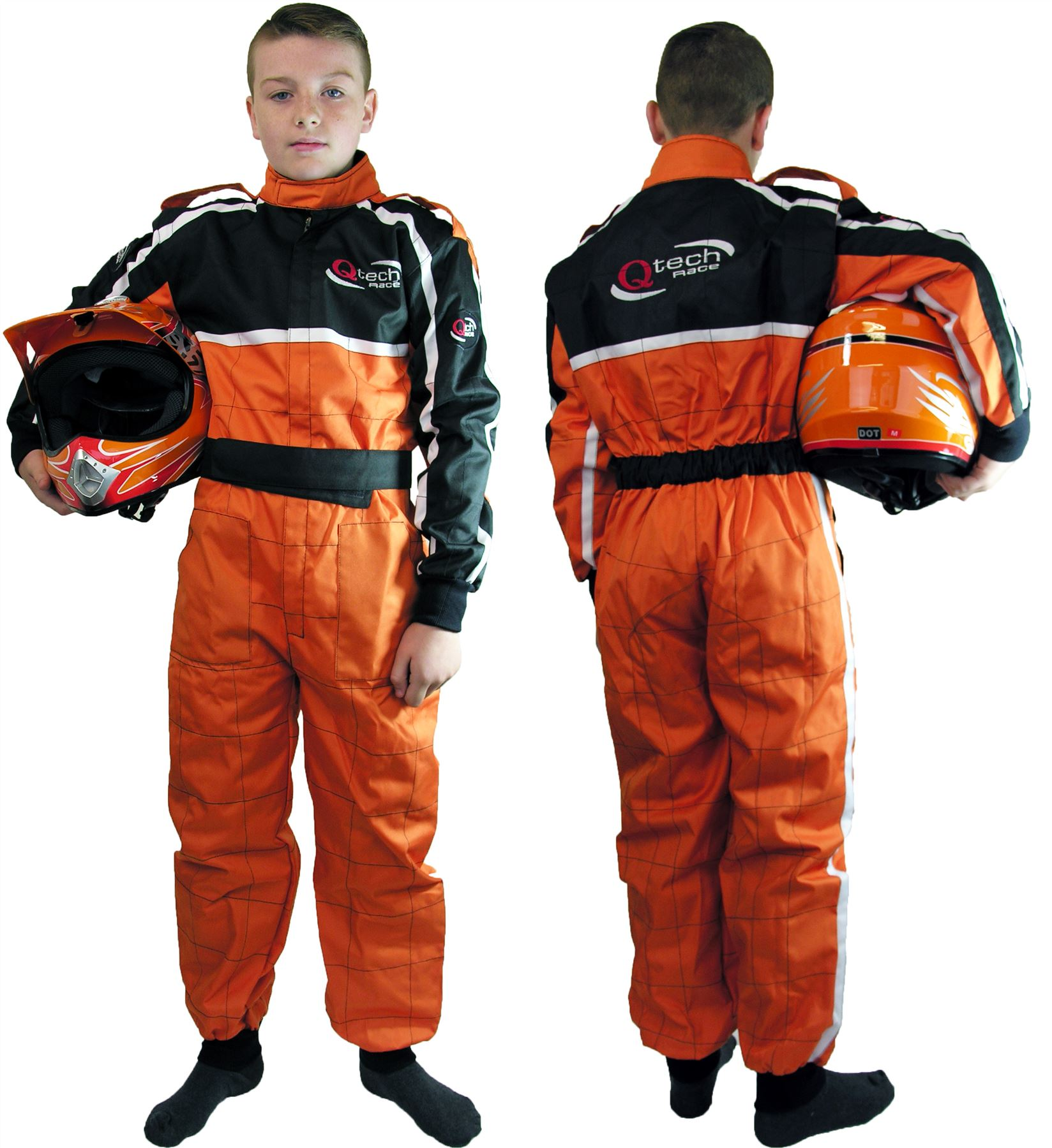 qtech combinaison int grale de moto cross karting moto enfant ebay. Black Bedroom Furniture Sets. Home Design Ideas