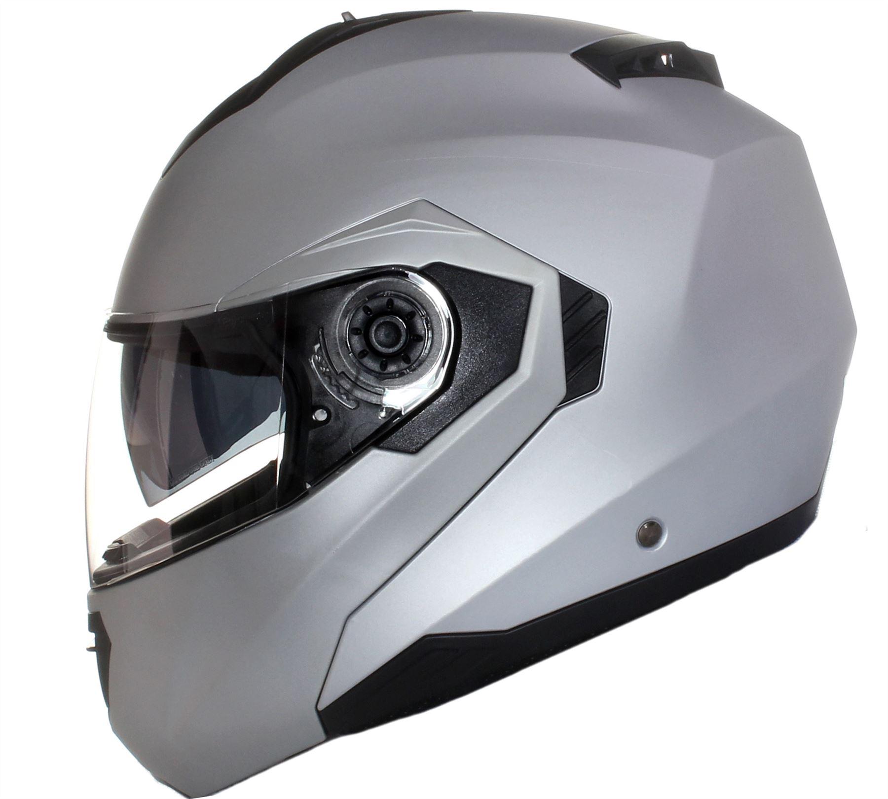 CASQUE-Moto-Modulable-avec-Double-Visiere-Teintee-Scooter-PARE-SOLEIL-Noir