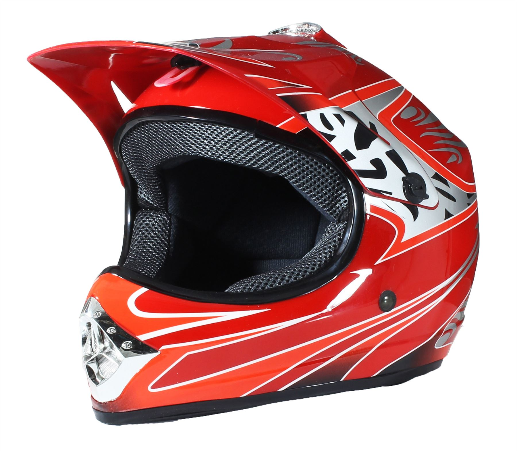crosshelm kinder motocross mx helm bmx quad atv kinder