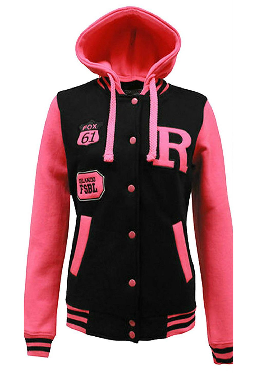 Baseball jackets for women