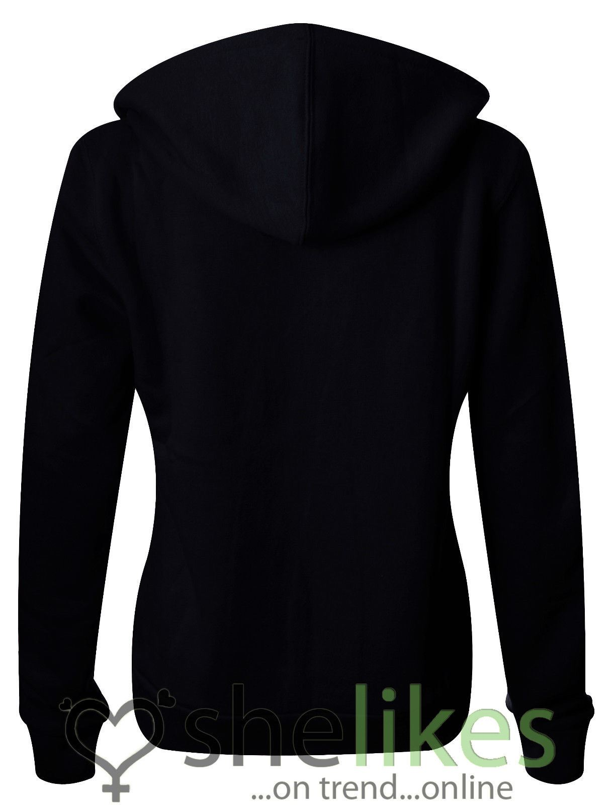 NEW-LADIES-WOMENS-PLUS-SIZE-FRONT-ZIP-HOODED-SWEATSHIRT-PLAIN-HOODIE-JACKET-TOP thumbnail 9