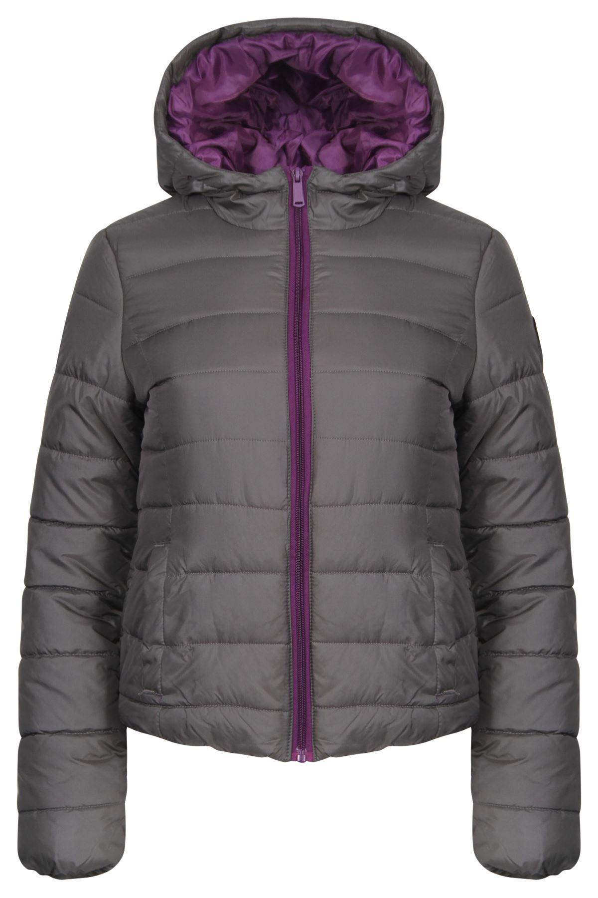 Womens padded coats with hood