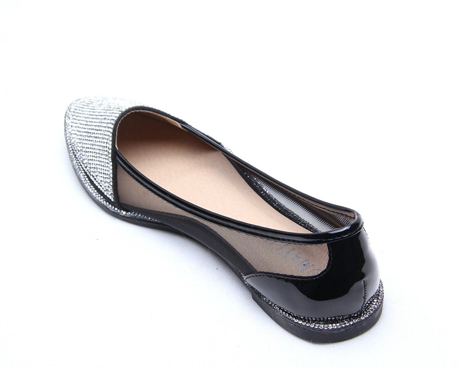 Black Sparkle Shoes. Clothing. Shoes. Black Sparkle Shoes. Showing 48 of results that match your query. Search Product Result. Product - Bamboo Womens QuintusA Perforated Cut Out Sparkle Rhinestone Ballet Flat Dress Shoes. Product Image. Price $ Product Title.