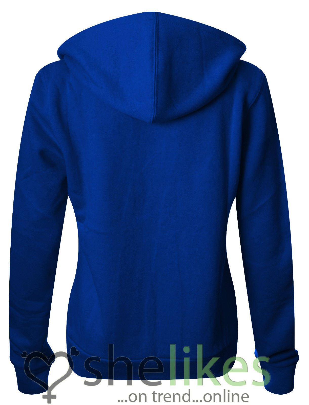 NEW-LADIES-WOMENS-PLUS-SIZE-FRONT-ZIP-HOODED-SWEATSHIRT-PLAIN-HOODIE-JACKET-TOP thumbnail 15