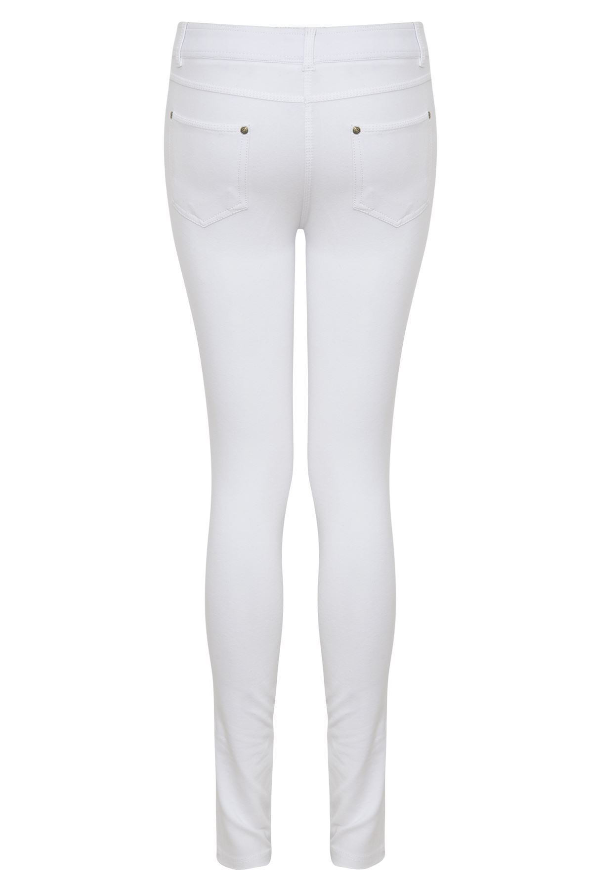 a077f7120b078f WOMENS LADIES SKIN FIT STRETCH TIGHT JEANS JEGGINGS LEGGINGS PANTS ...