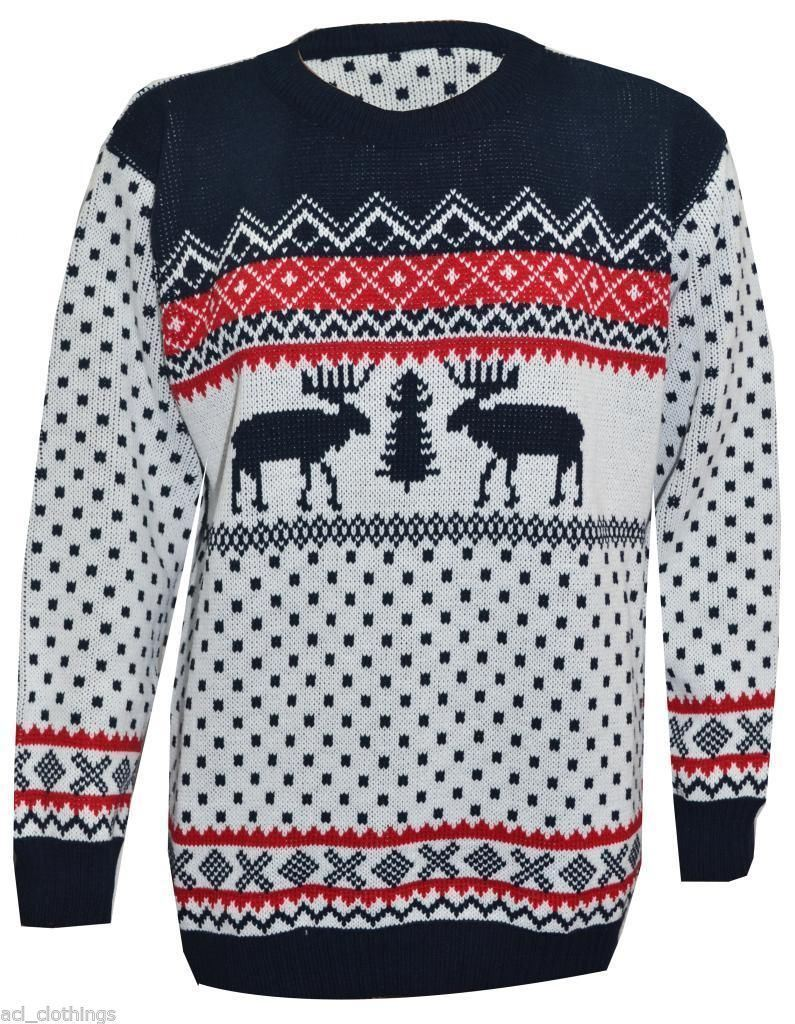Moose christmas sweater