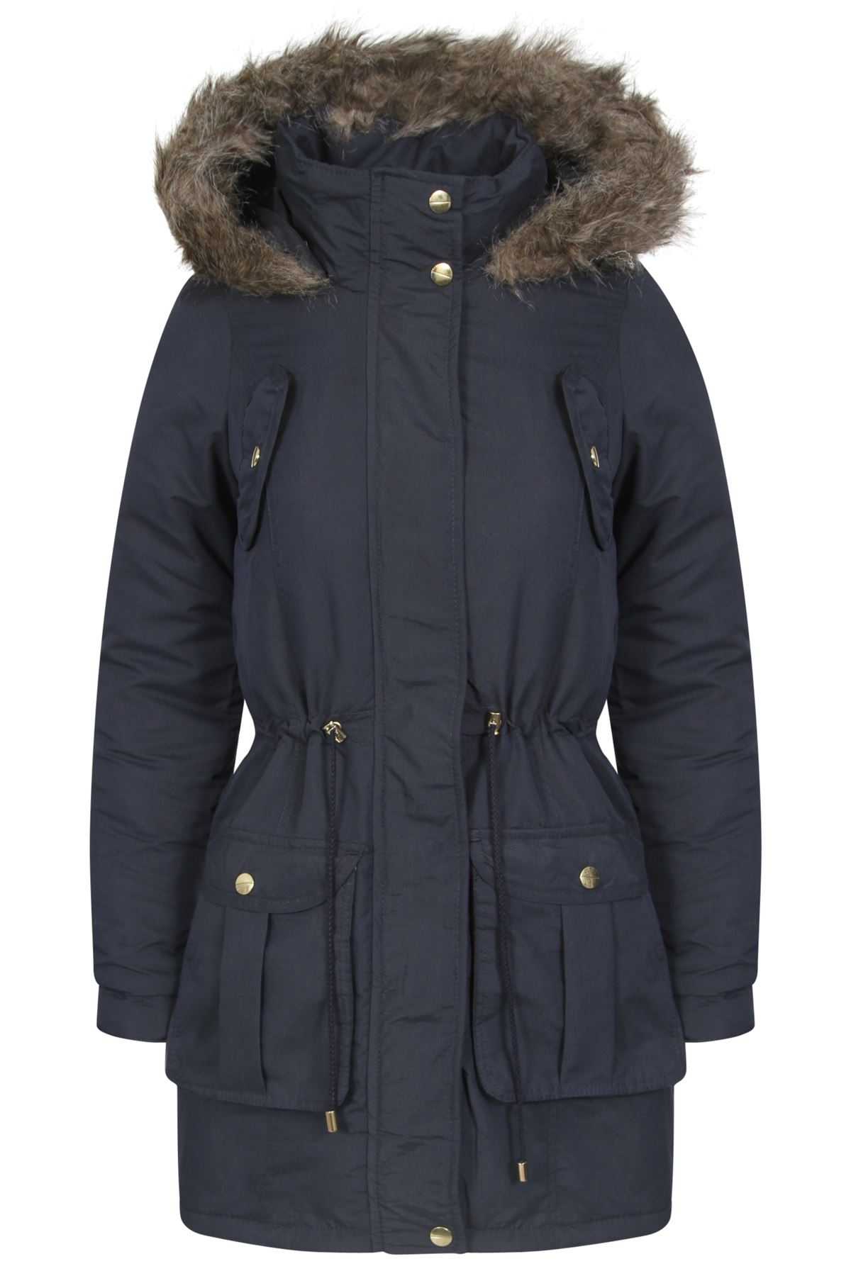 Womens Fur Trimmed Jackets