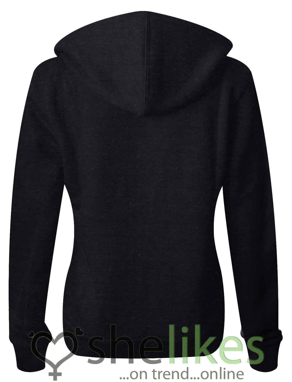 NEW-LADIES-WOMENS-PLUS-SIZE-FRONT-ZIP-HOODED-SWEATSHIRT-PLAIN-HOODIE-JACKET-TOP thumbnail 5
