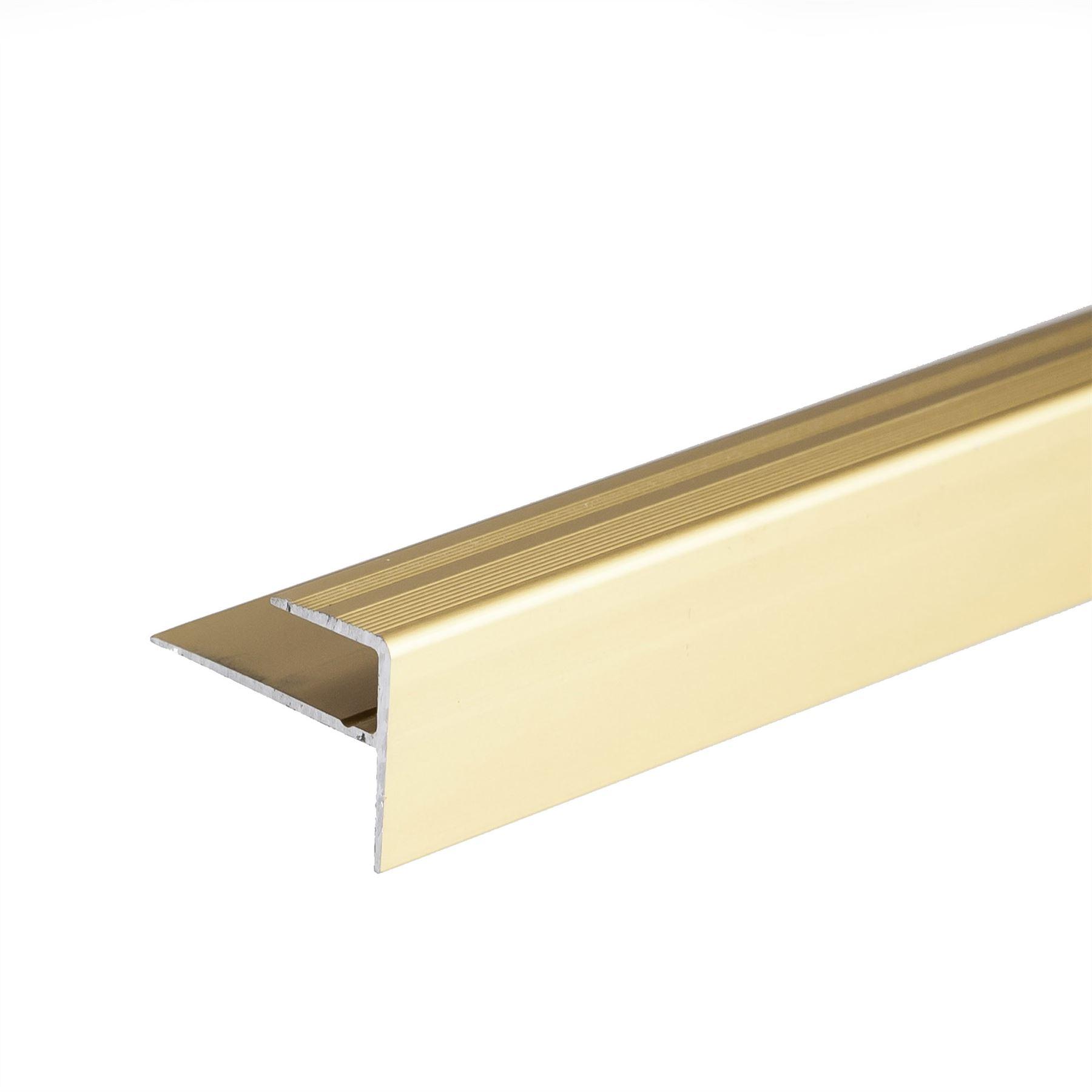 Carpet door edge strip
