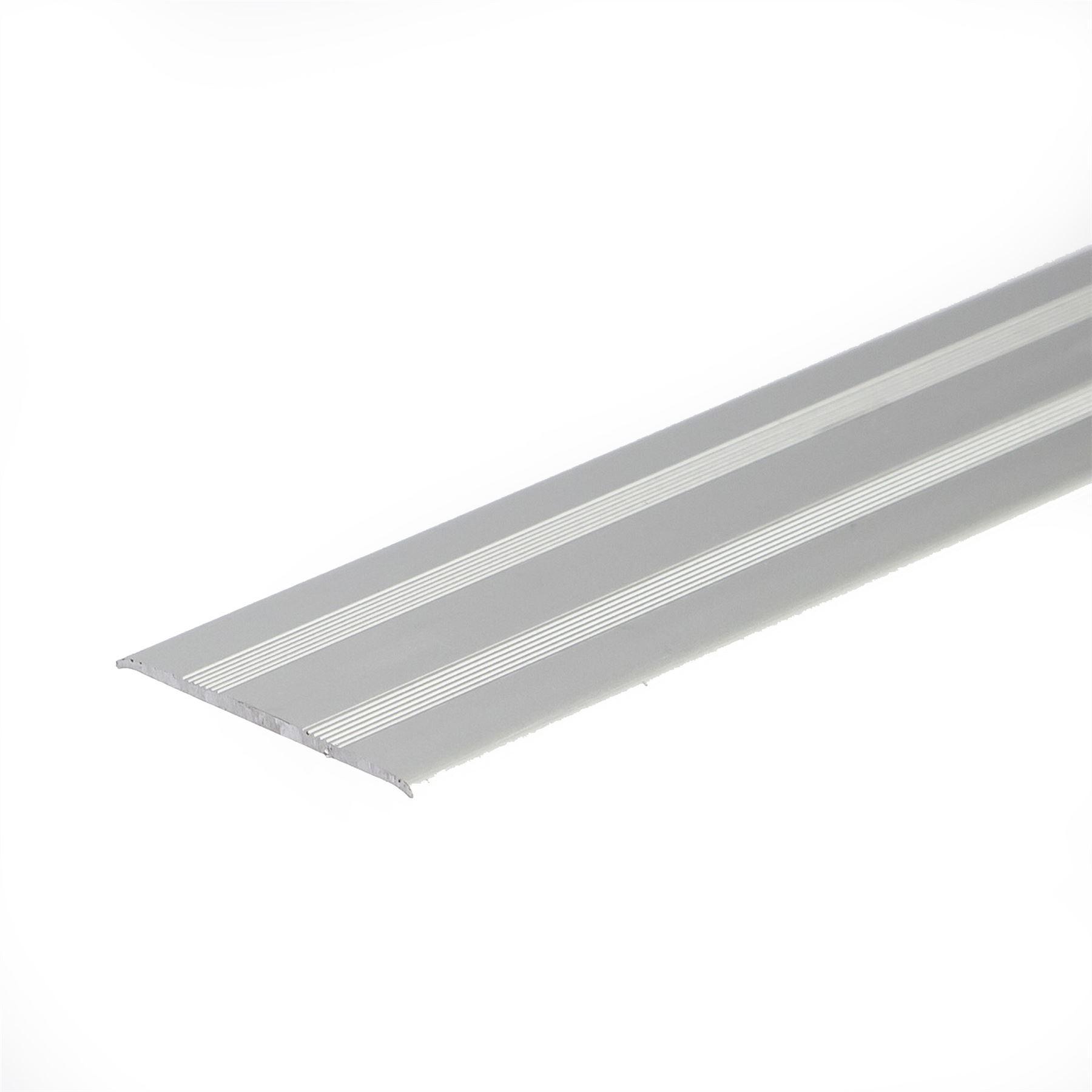 Self adhesive anodised aluminium floor bar edge trim for Floor edge trim