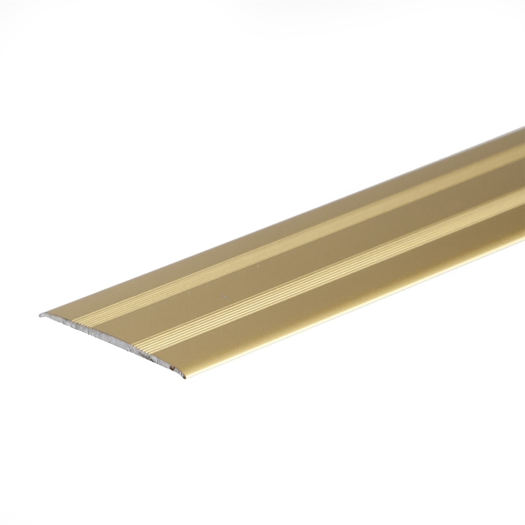 Anodised aluminium door floor bar edge trim threshold for Door edge trim