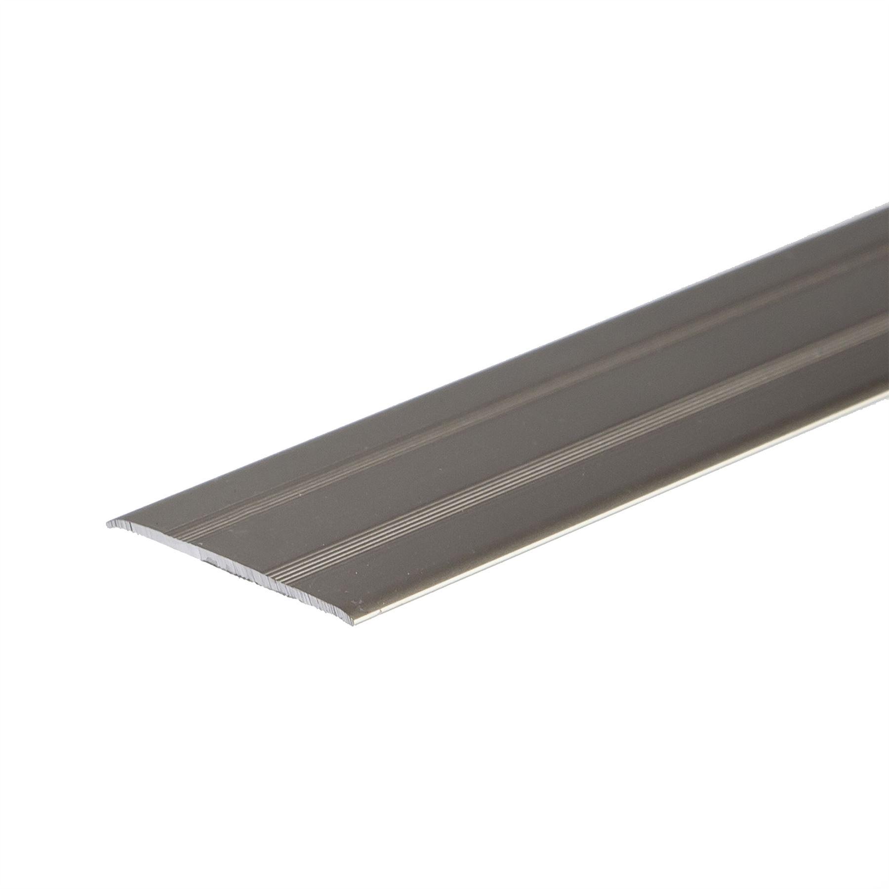 Anodised Aluminium Door Floor Bar Edge Trim Threshold