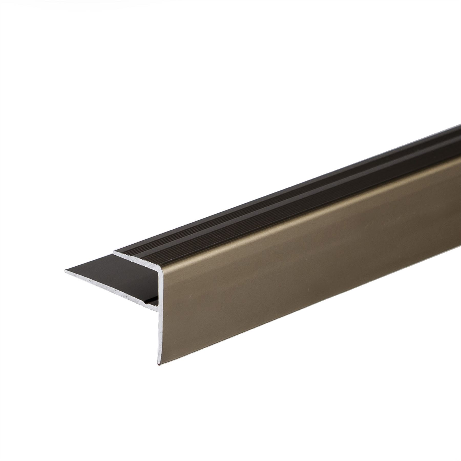 Anodised aluminium carpet edge nosing cover strip door for Door edge trim