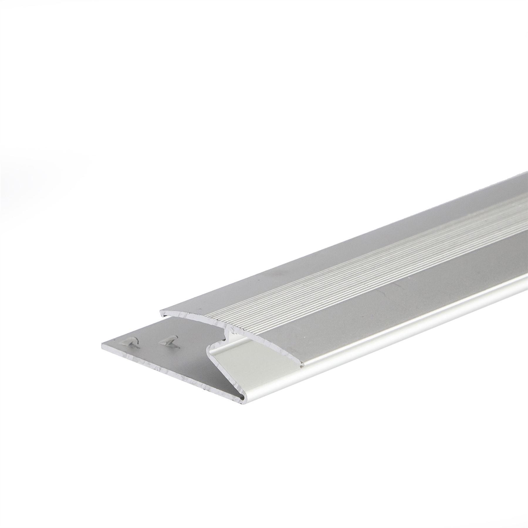 Anodised Aluminium Z Edge Carpet Profile Door Floor Bar