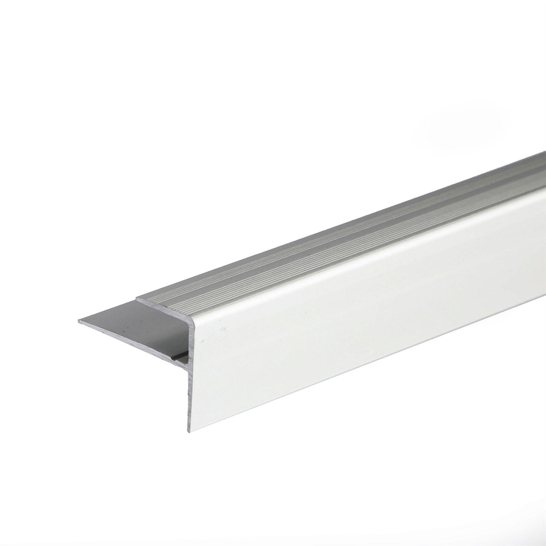 Anodised Aluminium Carpet Edge Nosing Cover Strip Door