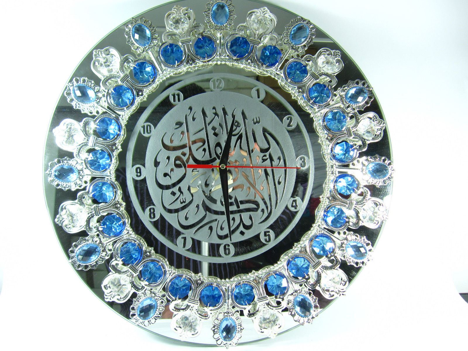 Modern Mirror Islamic Wall Clock Nice Unique Gift for All