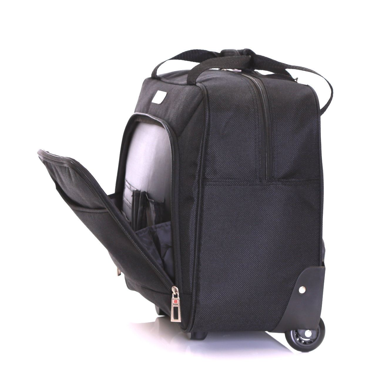 Karabar Wheeled Rolling Laptop Computer Travel Suitcase ...