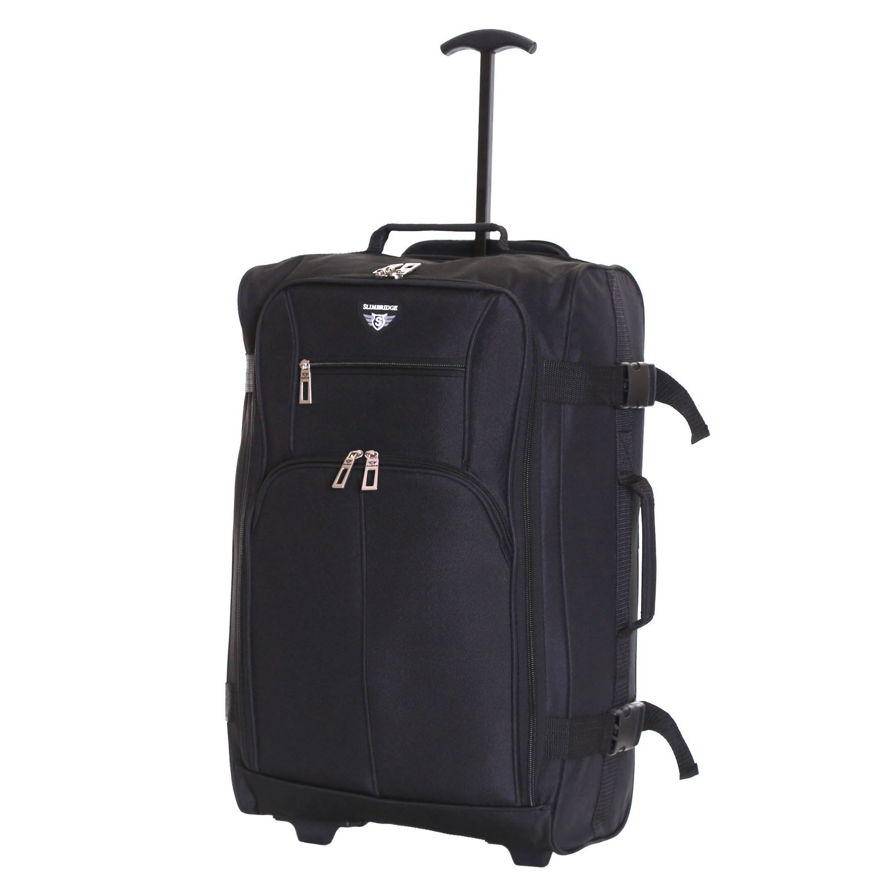 Ryanair-Easyjet-Set-of-2-Cabin-Approved-Hand-Trolley-Suitcases-Luggage-Case-Bags thumbnail 3