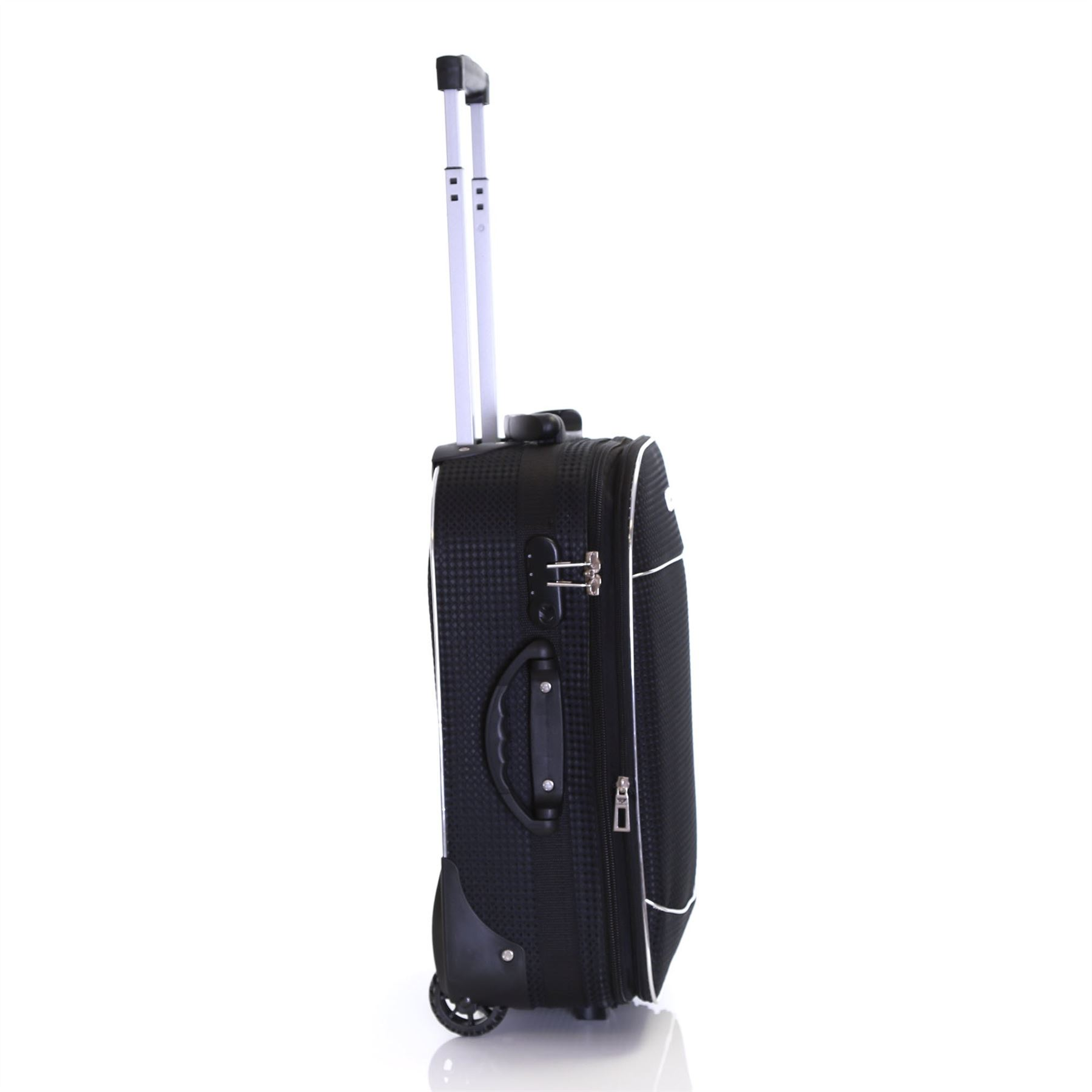 Set-of-2-Lightweight-Expandable-Luggage-Trolleys-Suitcases-Cases-Bags-Set thumbnail 7