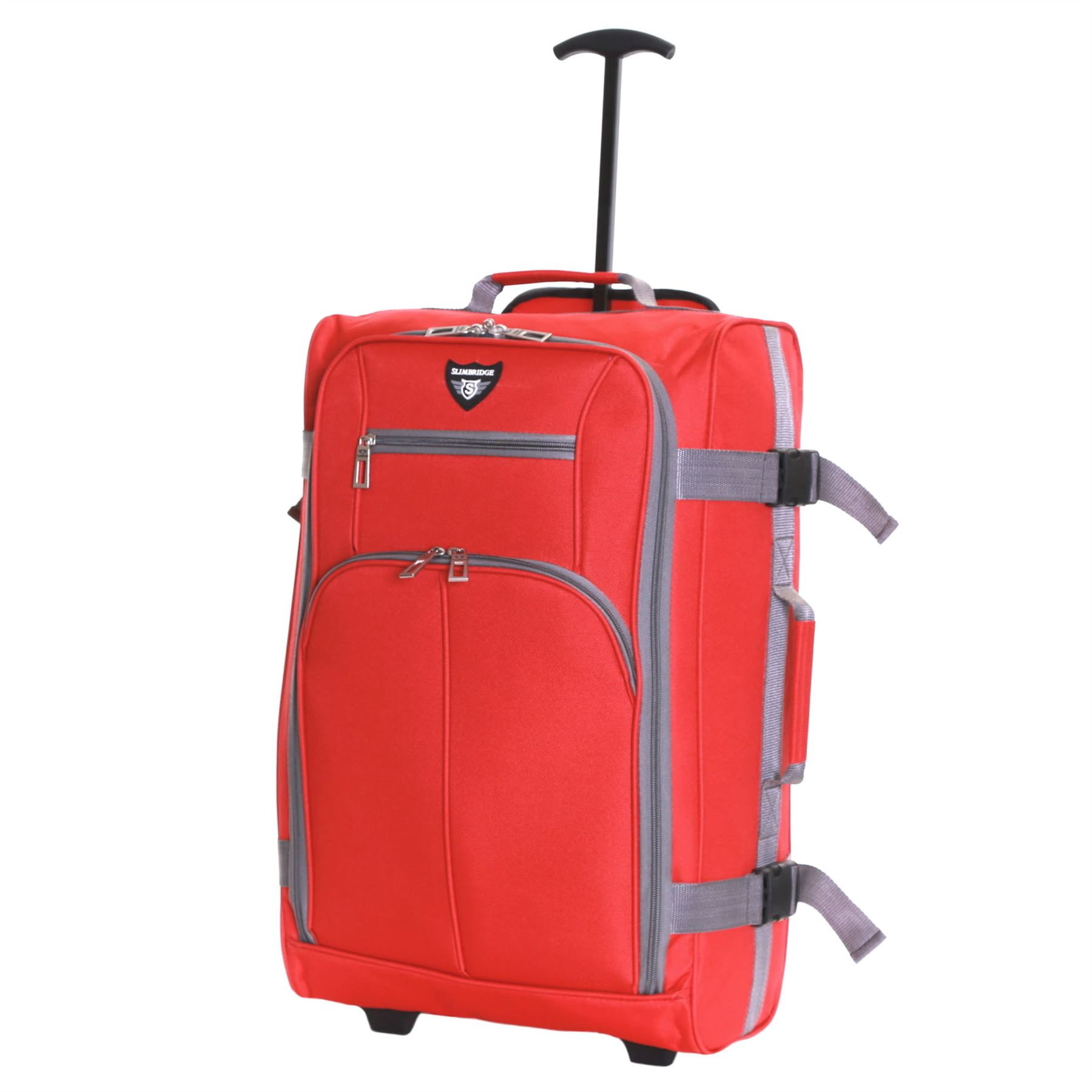 Ryanair-Easyjet-Set-of-2-Cabin-Approved-Hand-Trolley-Suitcases-Luggage-Case-Bags thumbnail 16