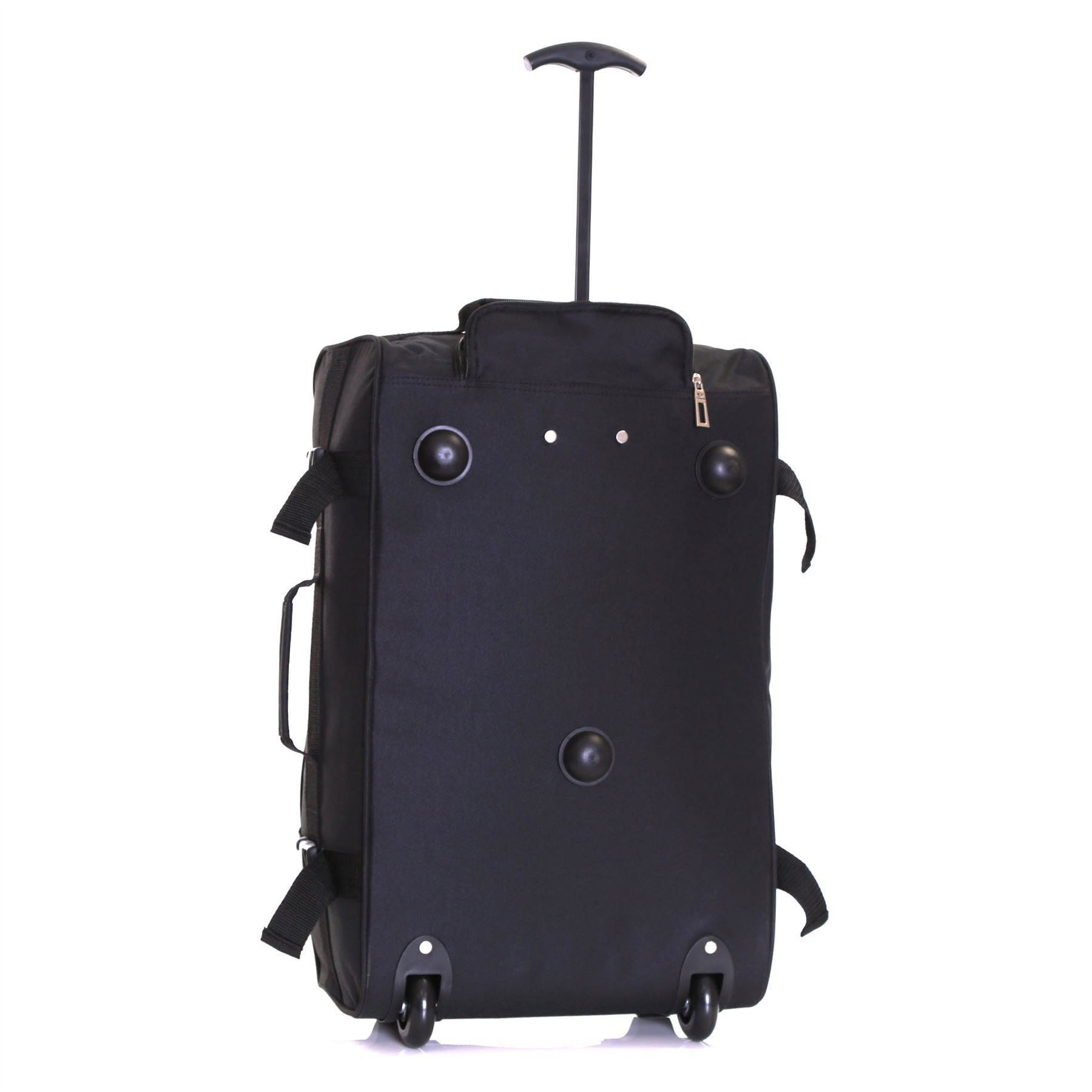 Ryanair-Easyjet-Set-of-2-Cabin-Approved-Hand-Trolley-Suitcases-Luggage-Case-Bags thumbnail 15