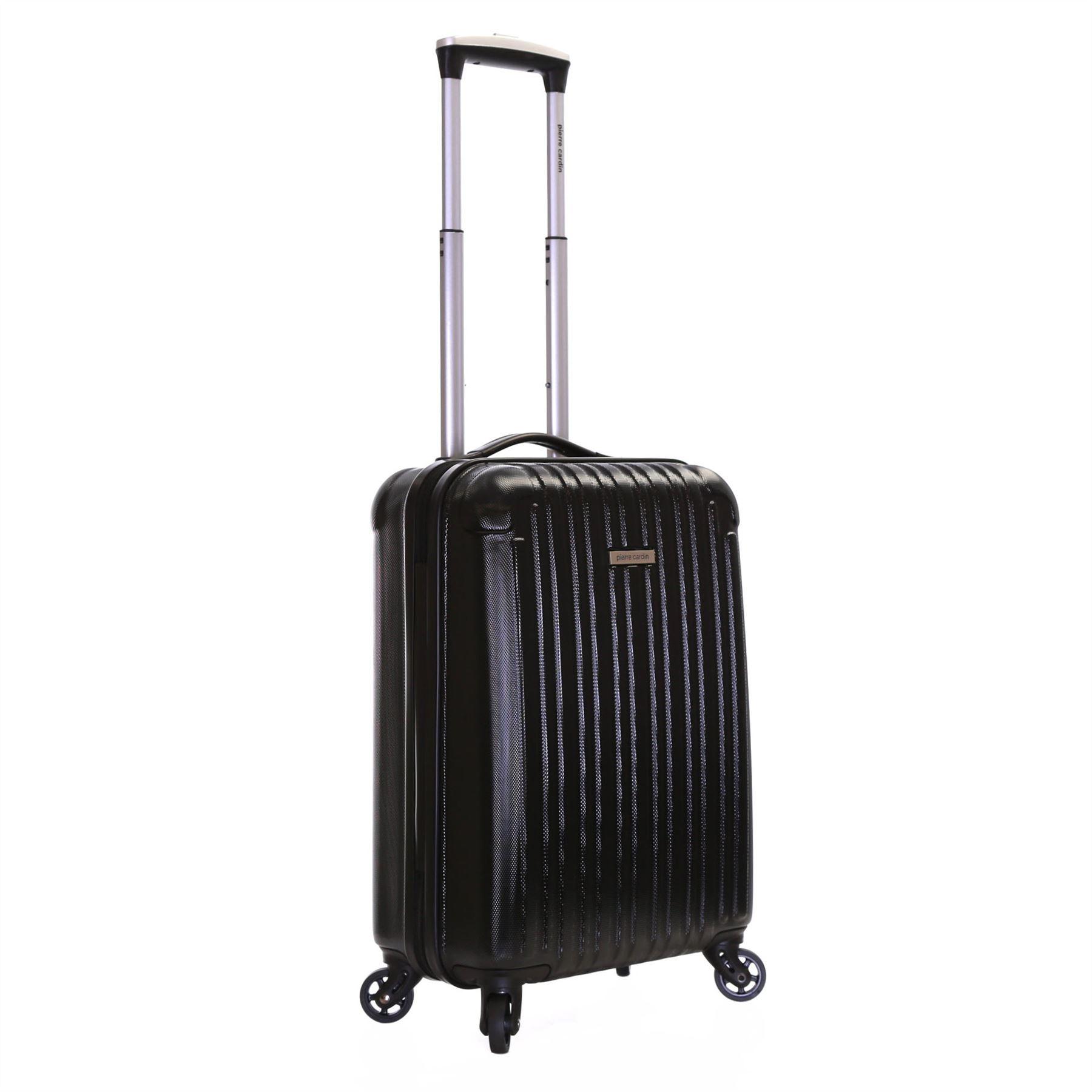 pierre cardin ryanair hard shell cabin flight trolley. Black Bedroom Furniture Sets. Home Design Ideas