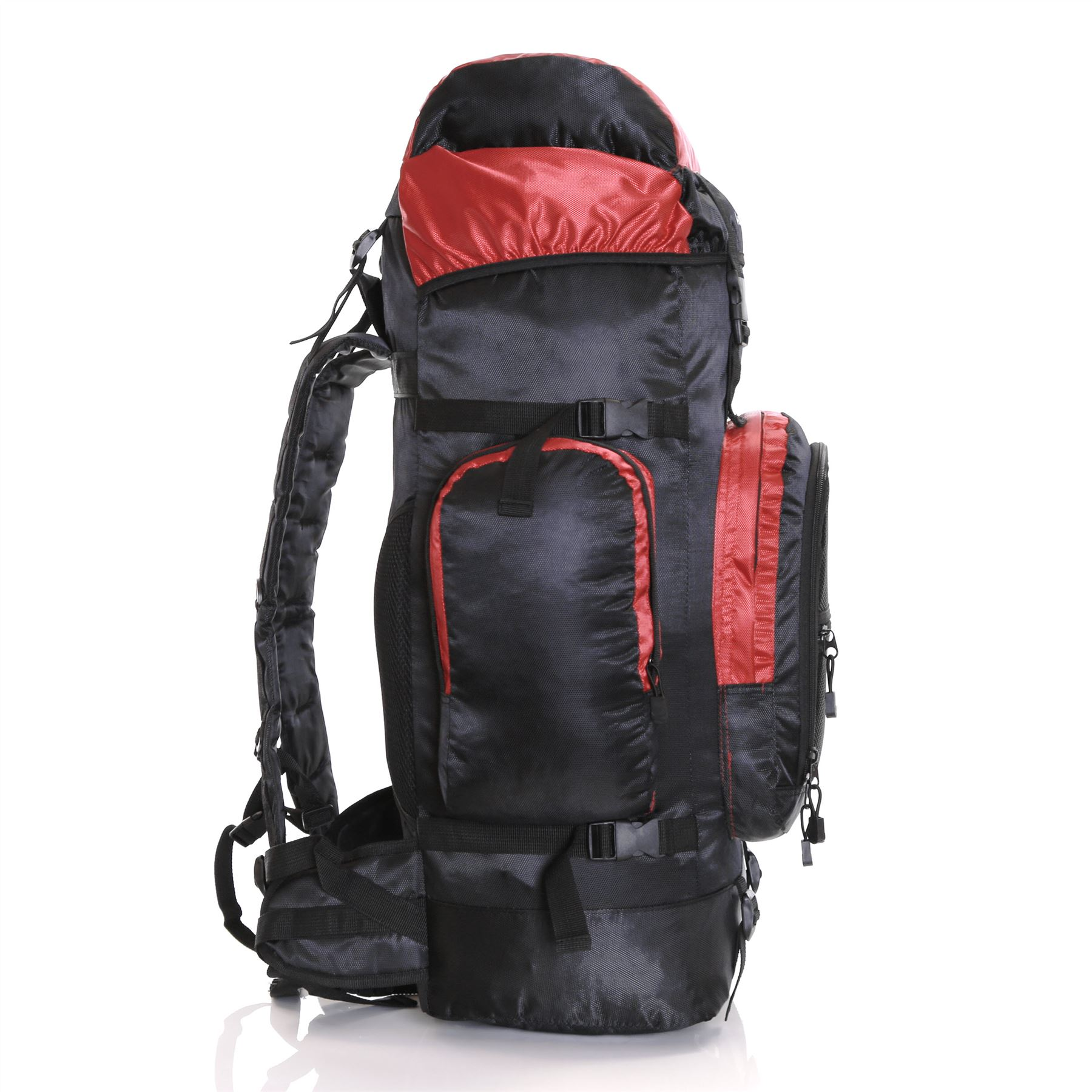 sac de randonnee grande contenance 80l trekking balade montagne camping ebay. Black Bedroom Furniture Sets. Home Design Ideas