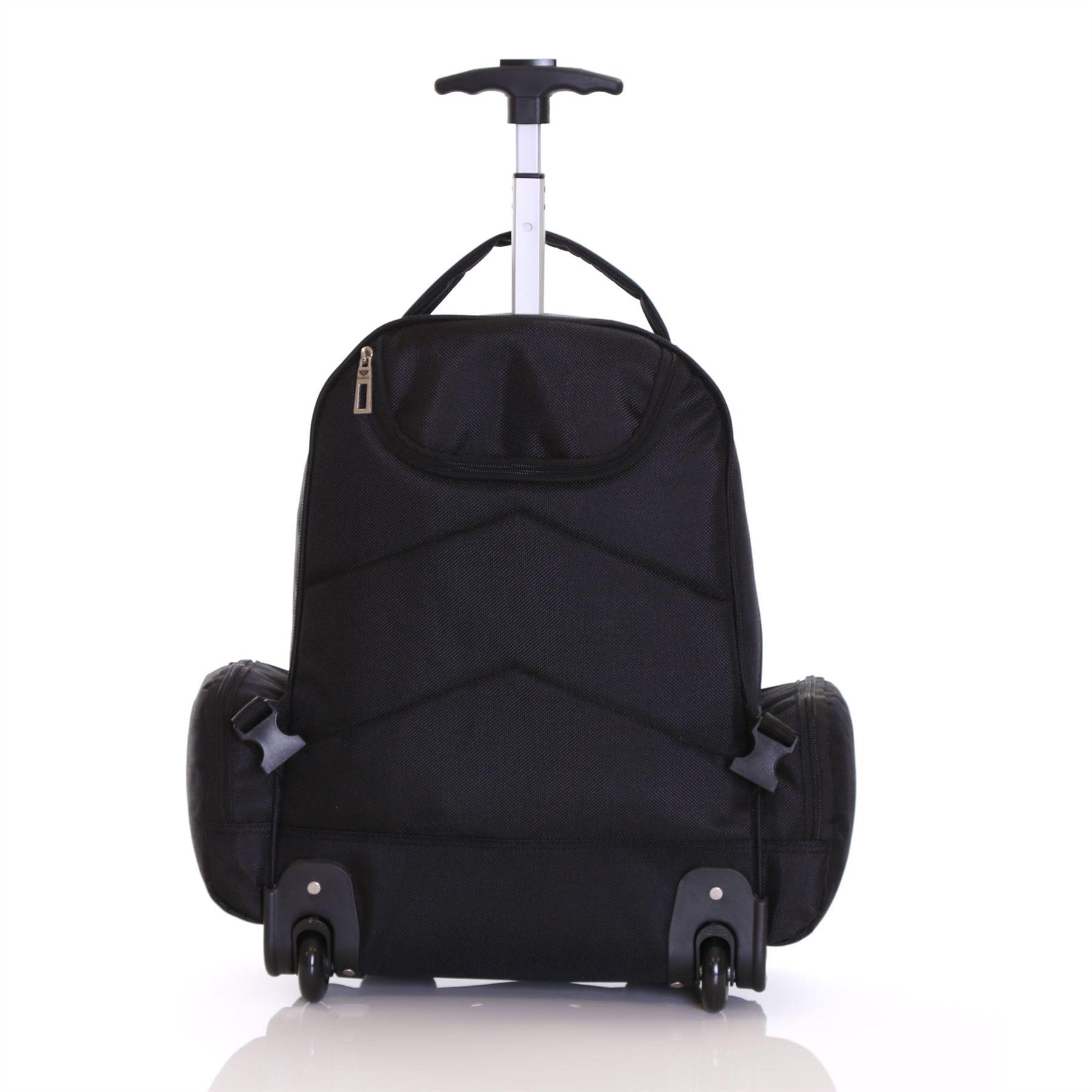 Wheeled cabin laptop computer suitcase trolley hand for Bagaglio a mano con custodia per laptop rimovibile