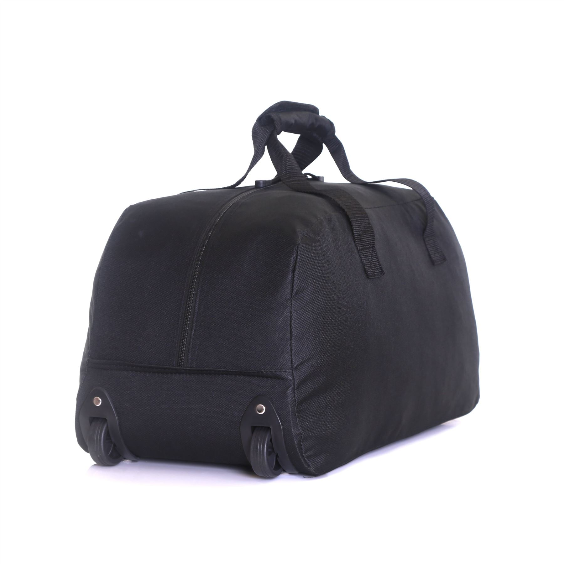 cabin approved wheeled travel trolley hand luggage suitcase duffle holdall bag ebay. Black Bedroom Furniture Sets. Home Design Ideas