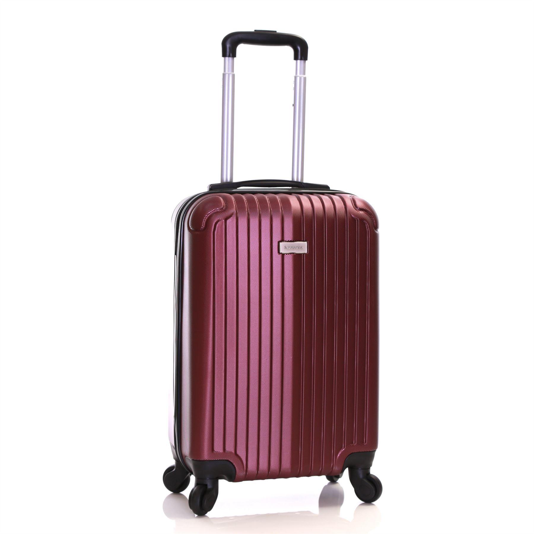 ryanair easyjet dur 55 cm cabine approuv spinner trolley valise bagage case ebay. Black Bedroom Furniture Sets. Home Design Ideas