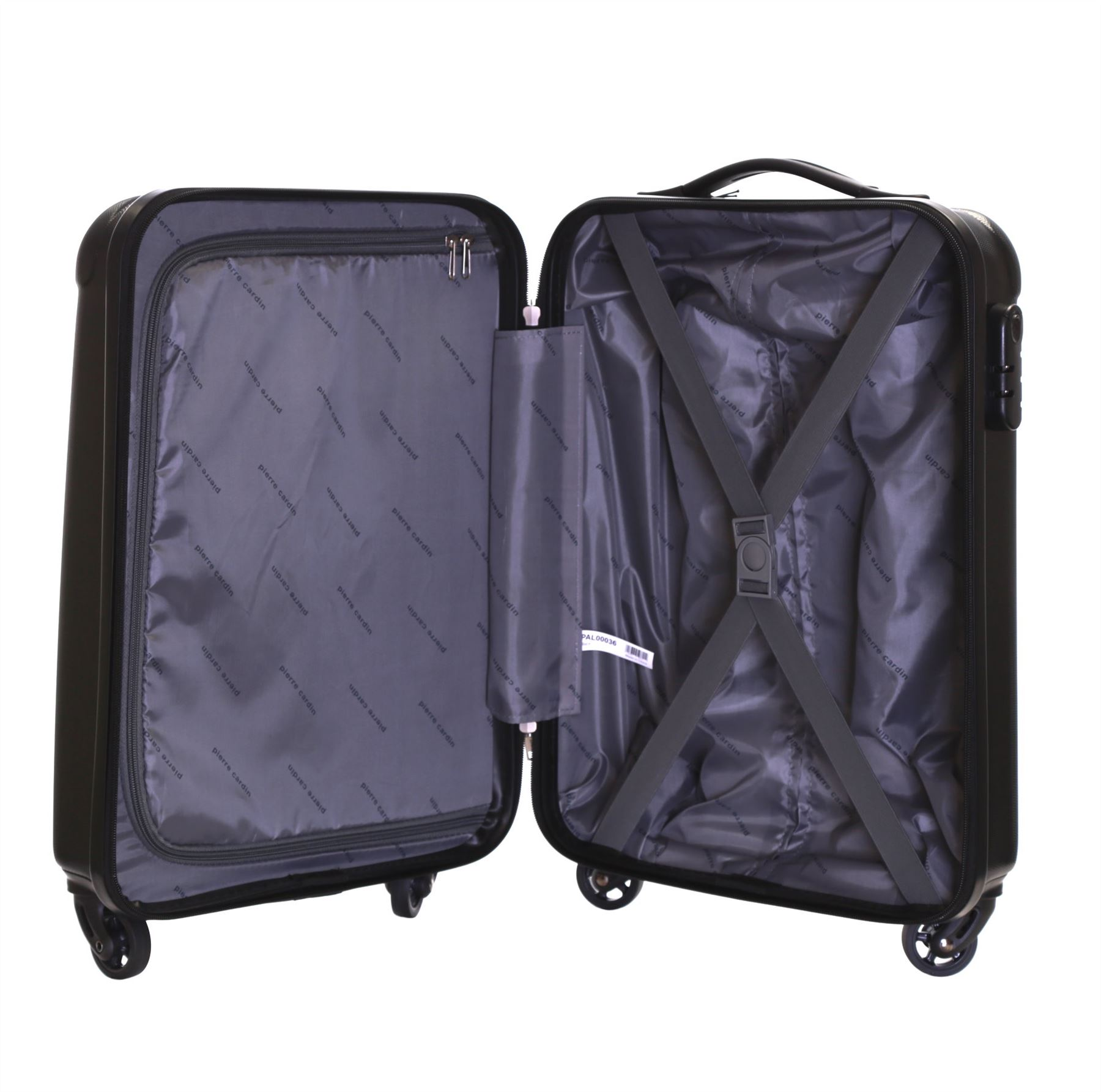 Pierre Cardin Ryanair Hard Shell Cabin Flight Trolley Suitcase ...