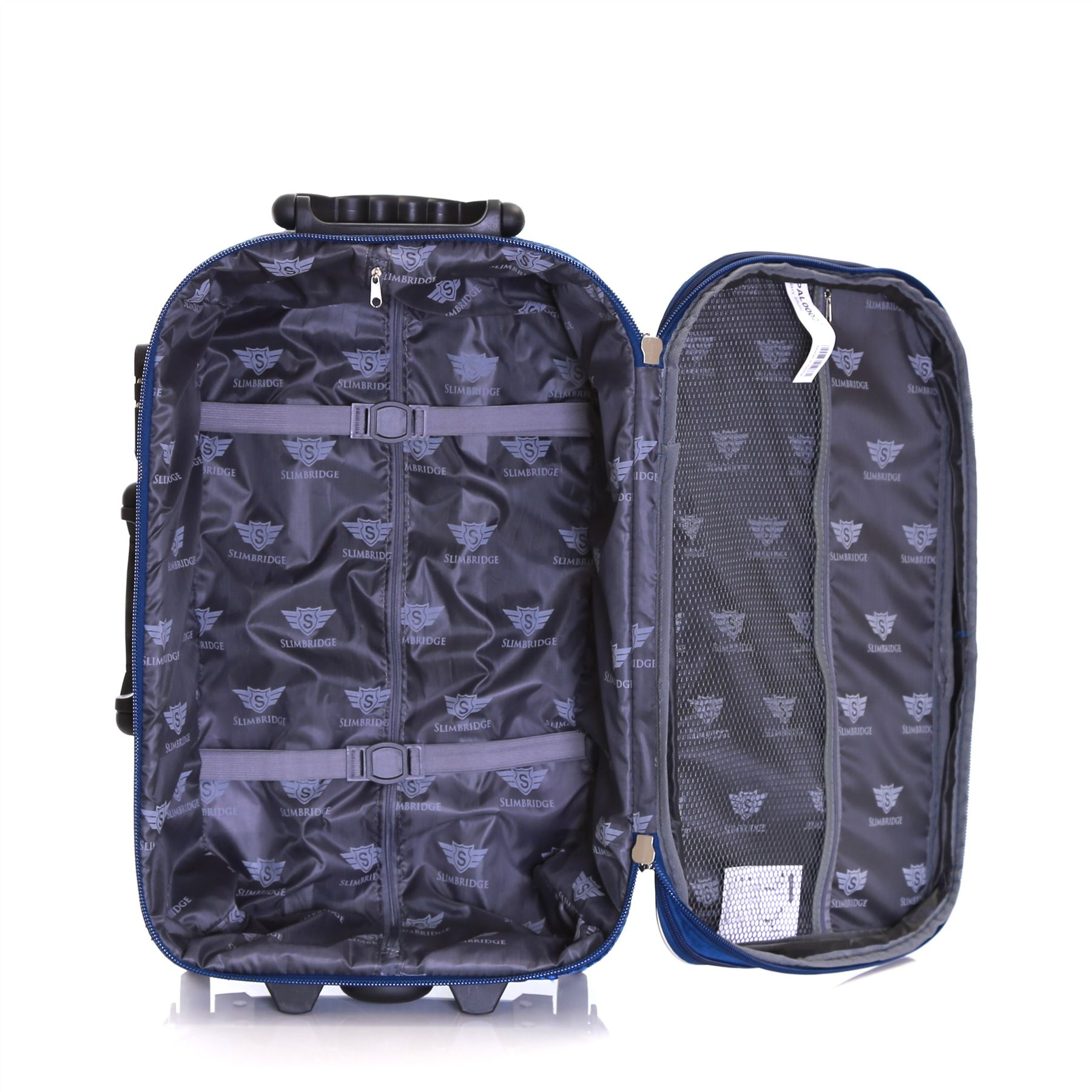 Set-of-2-Lightweight-Expandable-Luggage-Trolleys-Suitcases-Cases-Bags-Set thumbnail 9
