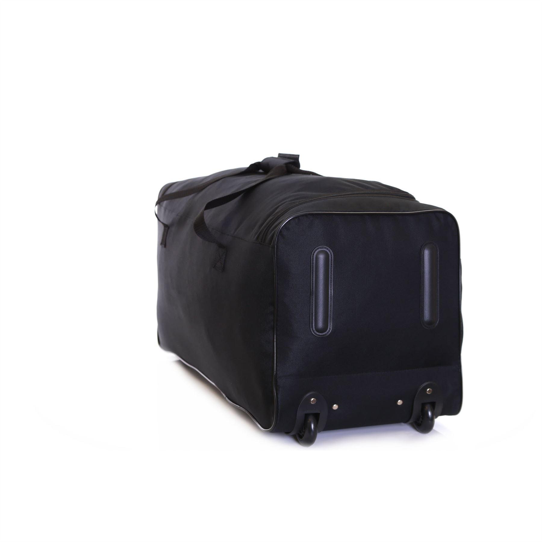 Extra Large XL Wheeled Travel Luggage Trolley Holdall Suitcase ...