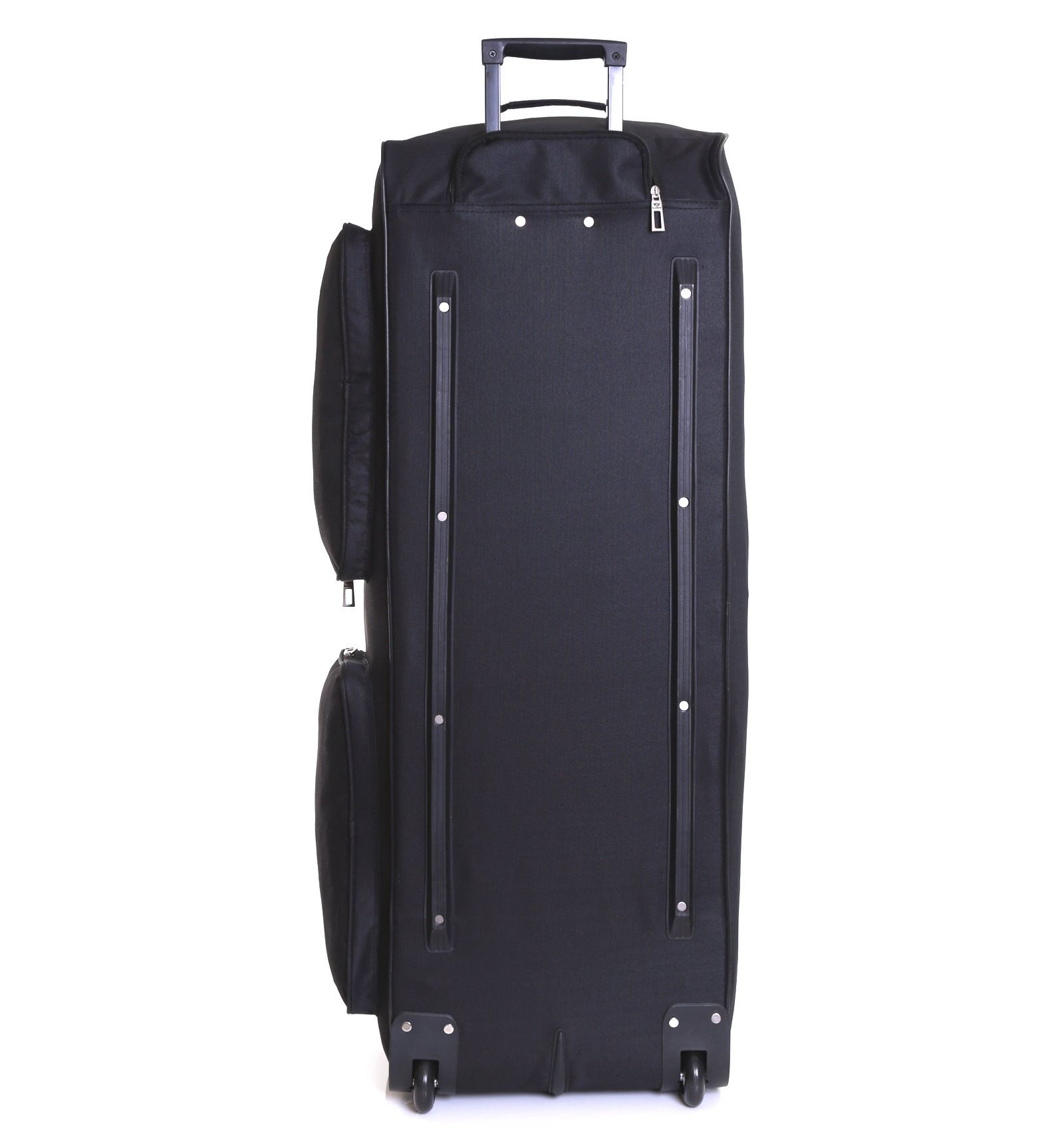 XXL Extra Large 40 Inch Wheeled Travel Trolley Luggage Suitcase ...