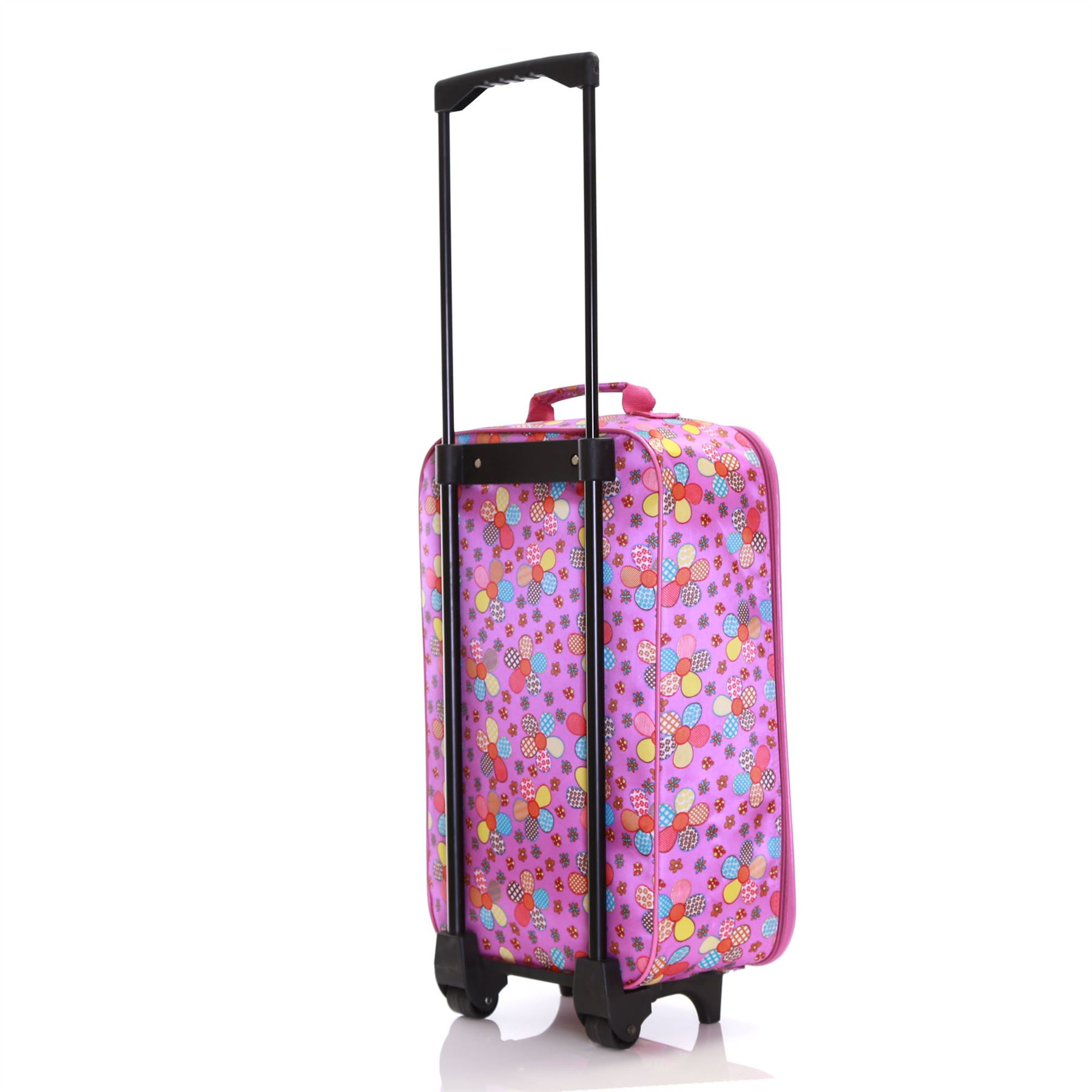 Kids Children Girls Cabin Flight Wheels Luggage Suitcase Travel ...