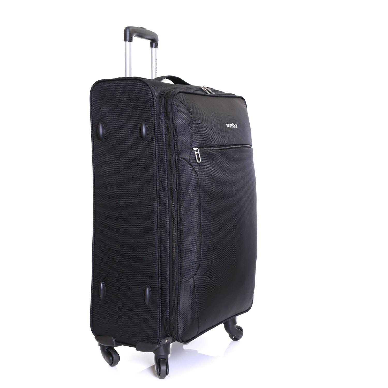 xxl erweiterbar 80 cm licht reisegep ck gep ck reisetasche koffer trolley tasche ebay. Black Bedroom Furniture Sets. Home Design Ideas