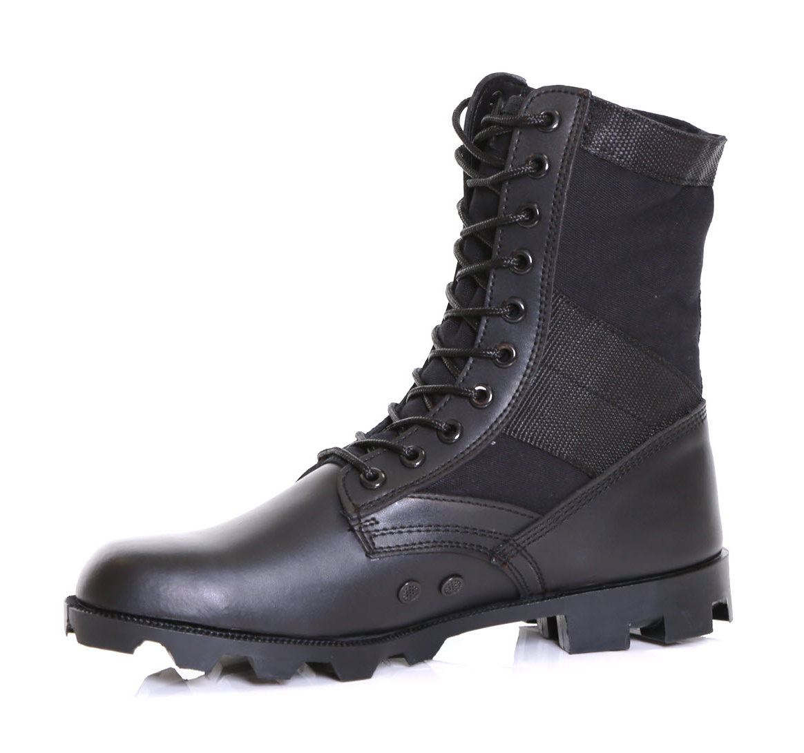 mens leather army combat assault security