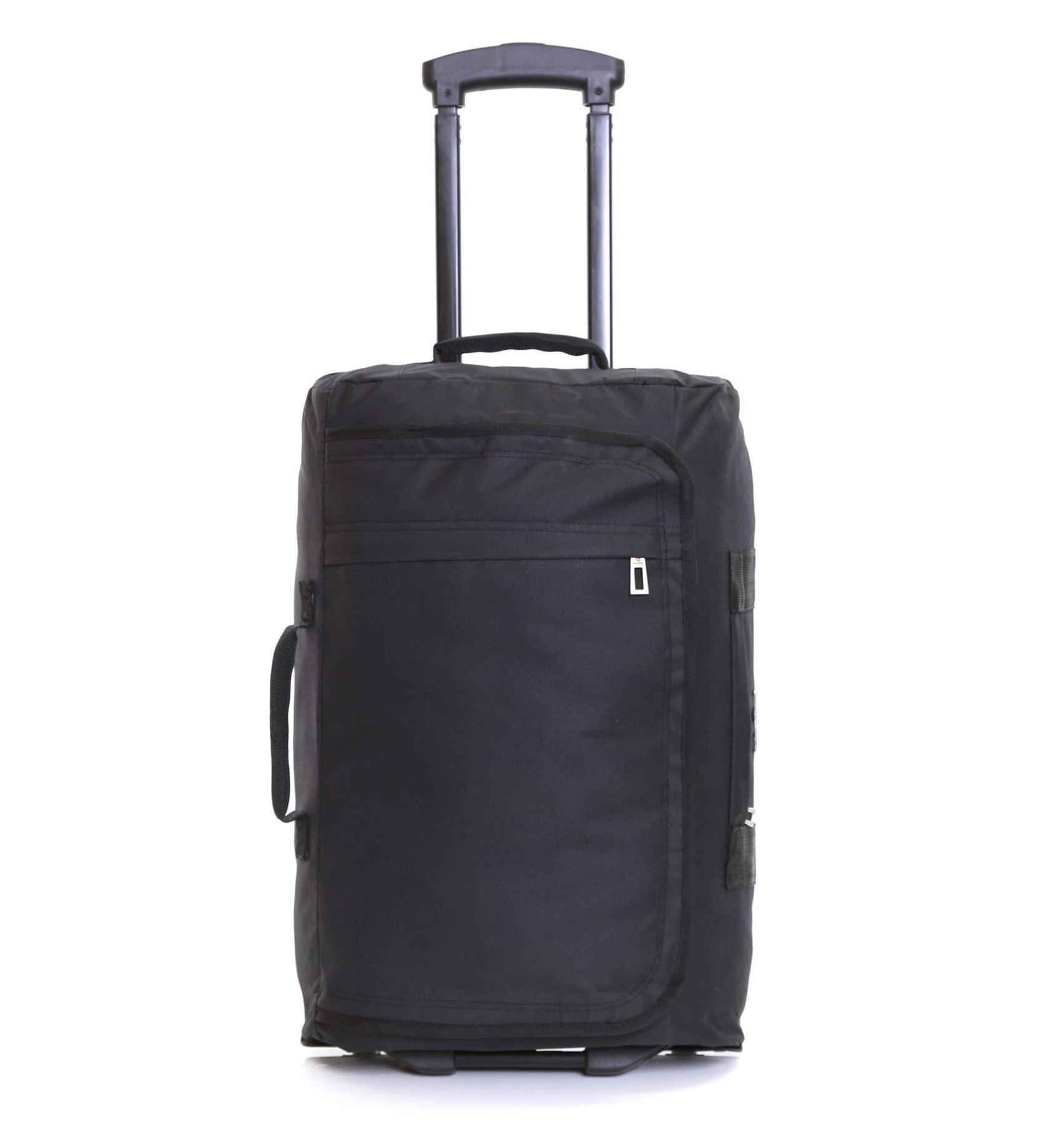 ryanair easyjet 55 cm valigia leggera trolley bagaglio borsa a mano con ruote ebay. Black Bedroom Furniture Sets. Home Design Ideas
