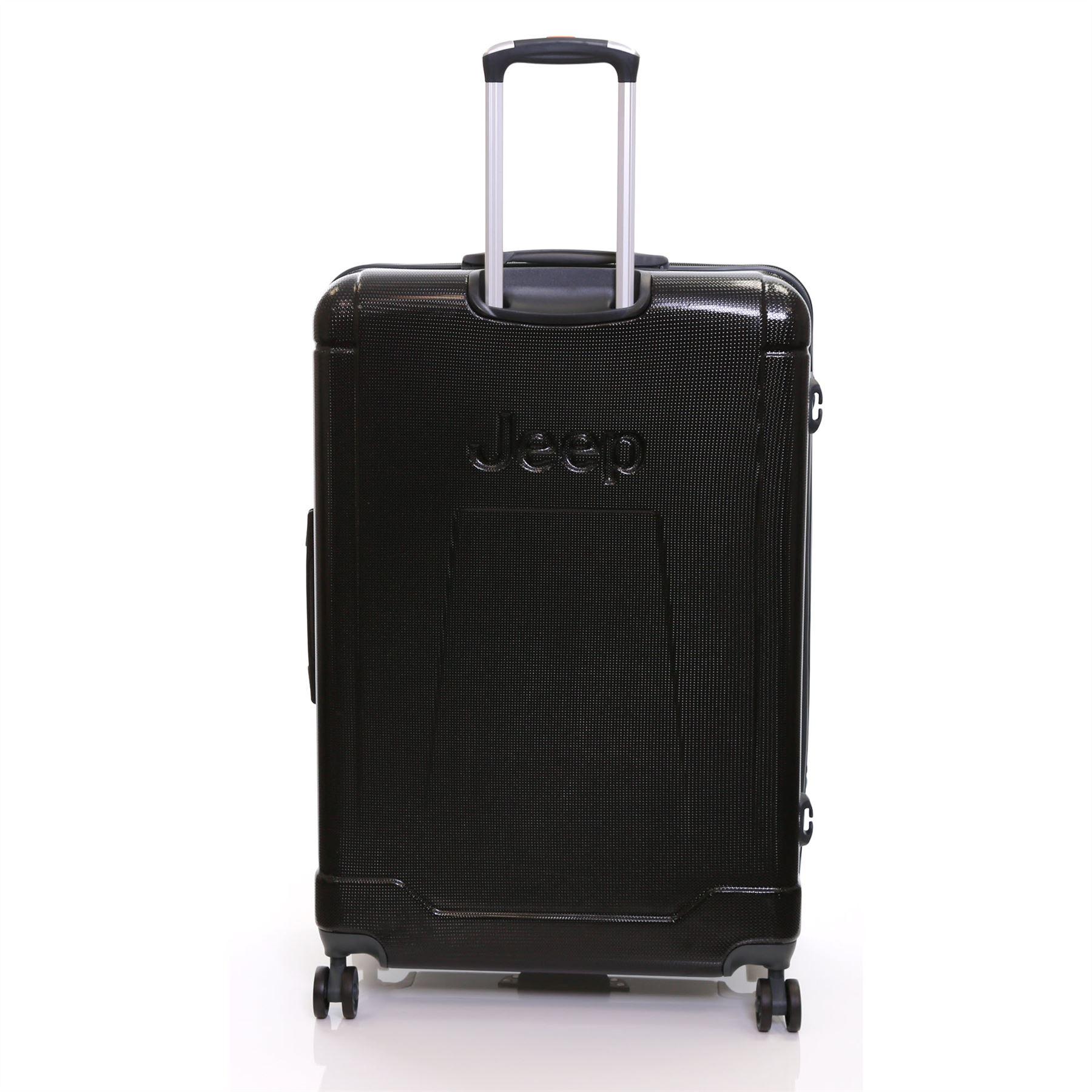 jeep xl 80 cm hartplastik gro er trolley koffer reisegep ck gep ck reisetasche ebay. Black Bedroom Furniture Sets. Home Design Ideas