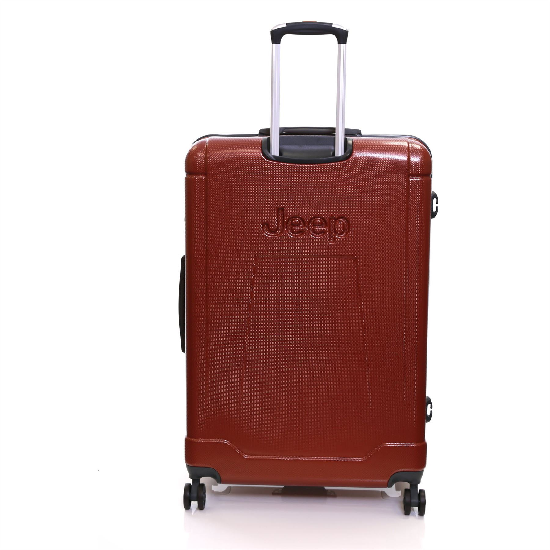 Jeep XXL Extra Large 80 cm Hard Shell Spinner Trolley Luggage ...